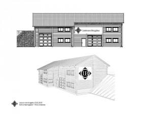 Slik blir Lindesnes Brygghus' nye bygg i Gahre Næringspark