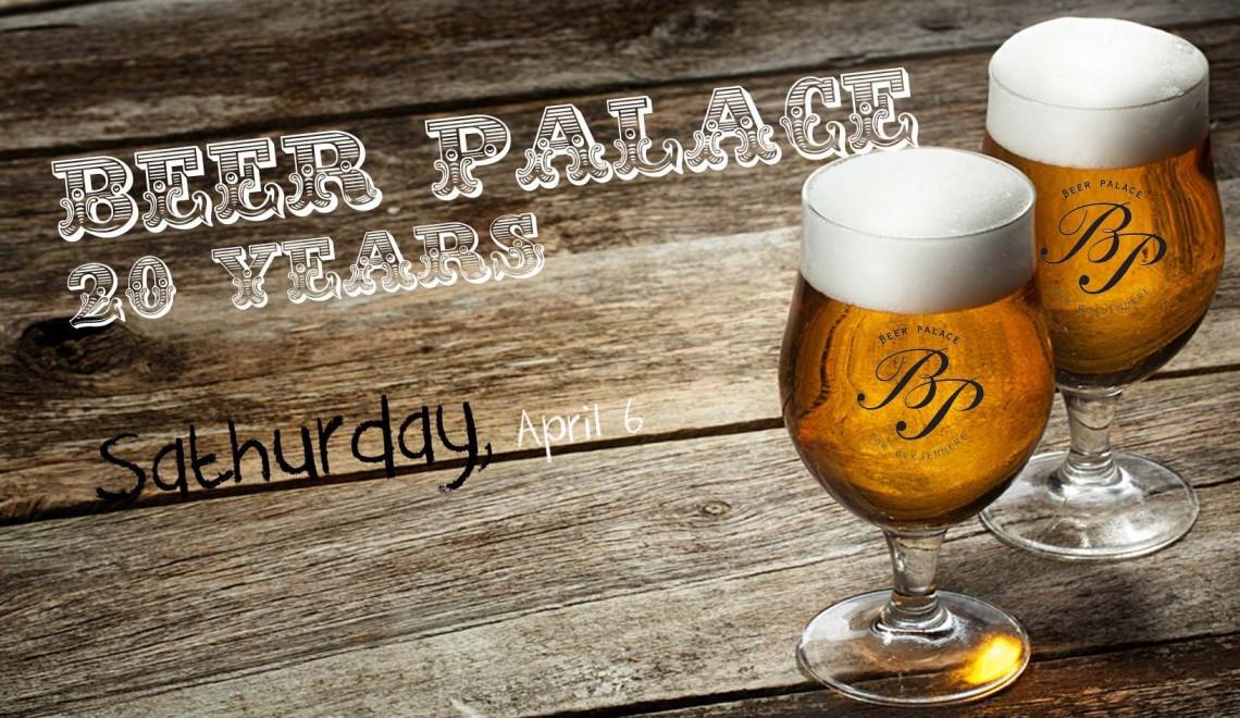Beer Palace fyller 20 år!