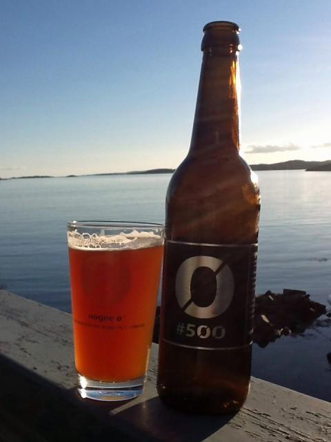 Nøgne Ø #500. Egentlig en Imperial IPA, men påmeldt i klassen Barley/Wheat Wine