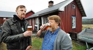 Steffen Steffensen og Jan Halvor Fjeld Foto: Inge Fjelddalen, Telemarksavisa