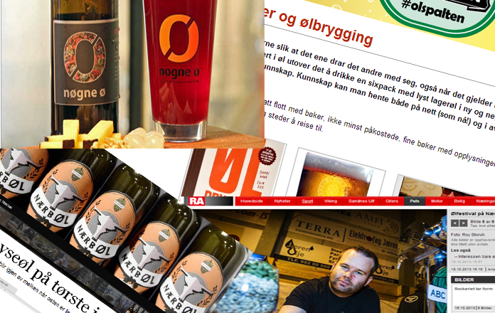 Stadig mer om øl i media
