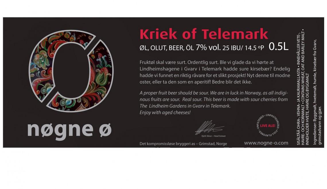 Ukens anbefalte øl: Nøgne Ø Kriek of Telemark