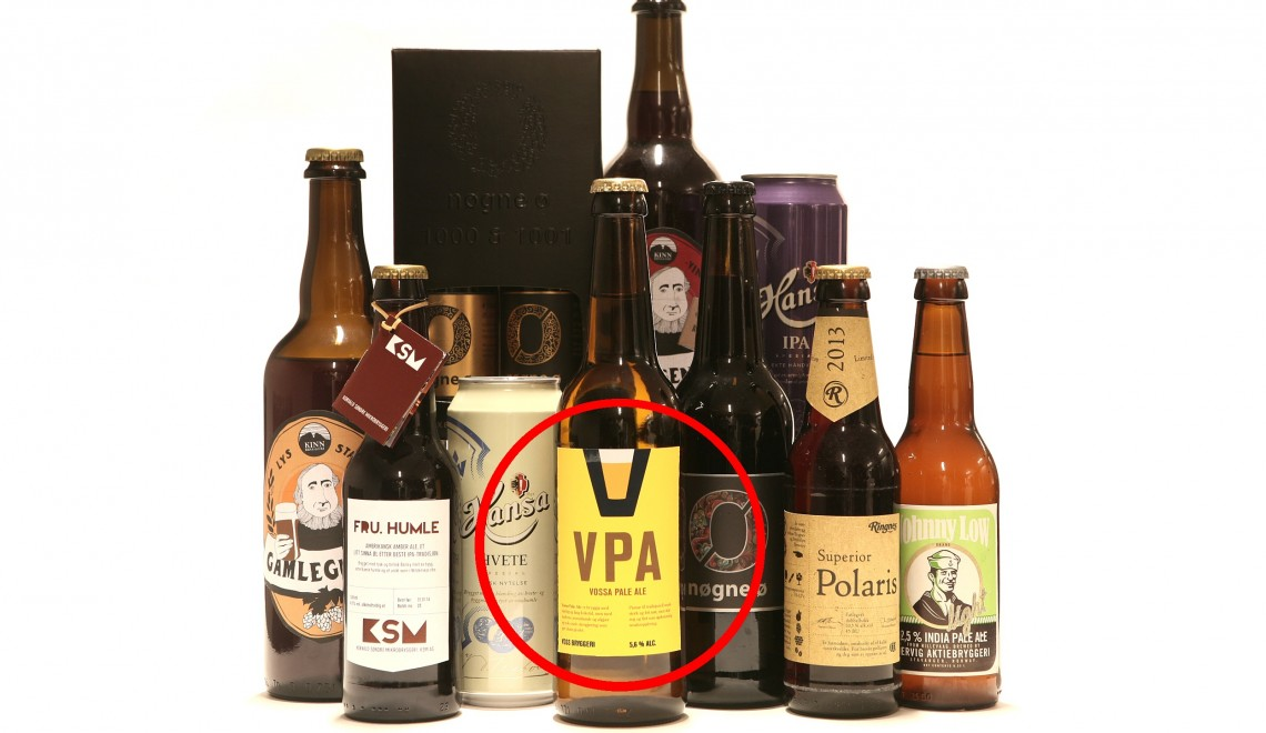 Årets Øl-innovasjon 2013: Vossa Pale Ale
