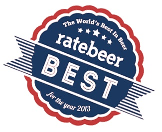 RateBeers kåringer for 2013