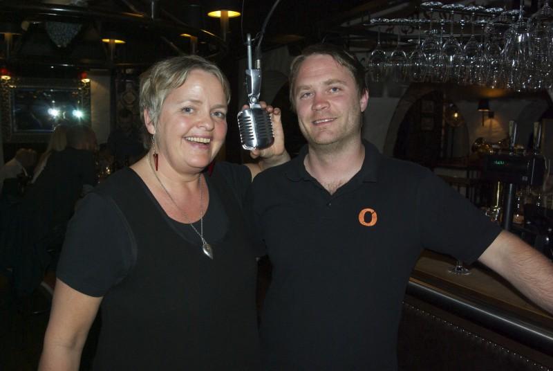 Sigrid Strætkvern og Rolf Tore Vik