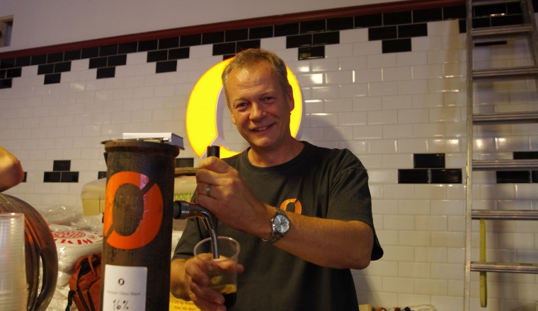 Nøgne Ø kupper kranene på Cafe Sara