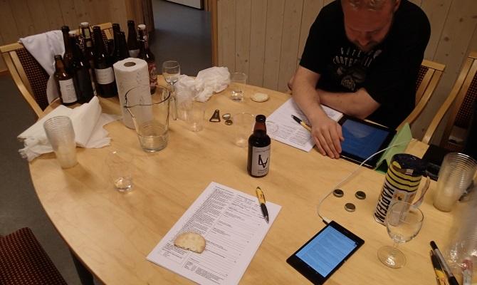 Konkurransebedømming av øl