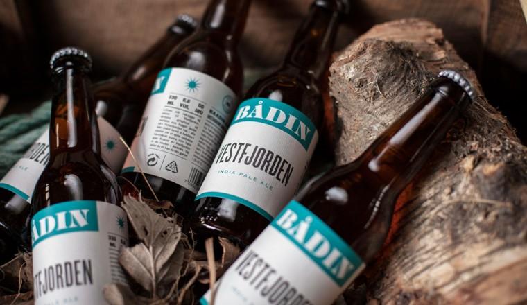Bodø-bryggeriet Bådins design gjør seg bemerket