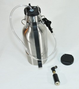 Drink Tank Growler med Keg Cap