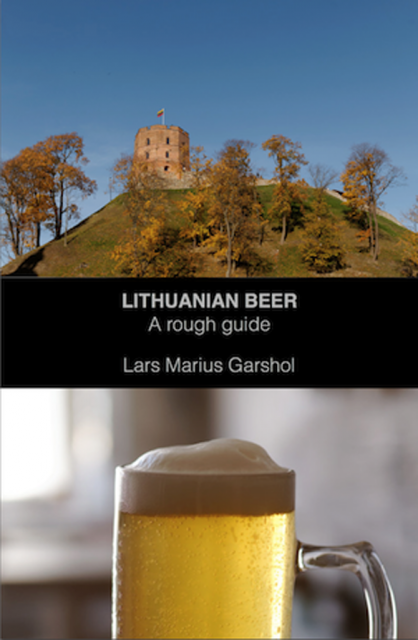 cover Lithuanian Beer - Lars Marius Garshol