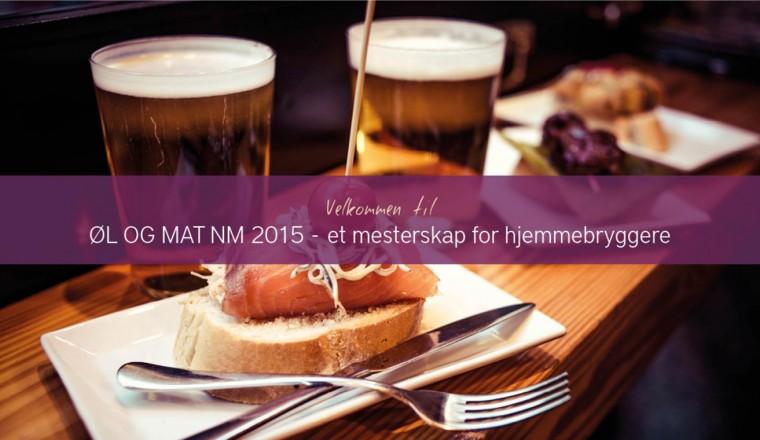 Øl og mat NM – et mesterskap for hjemmebryggere
