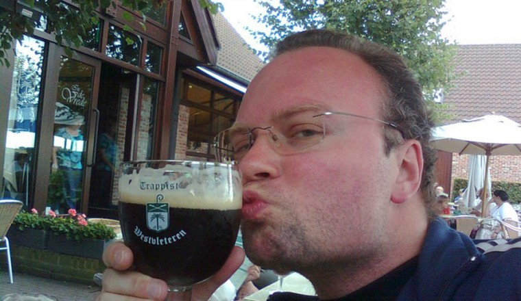 En ølentuasiast krysser sitt spor