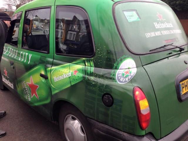 Heineken Taxi