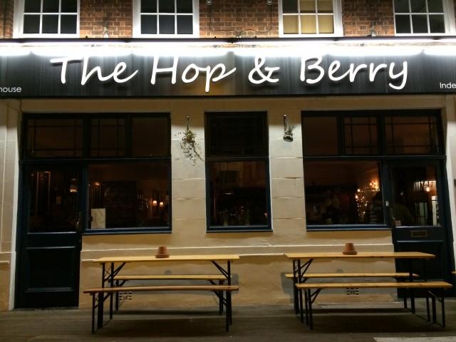 Hop & Berry (en pub som kun har øl fra London!)