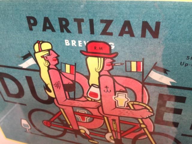 Partizan Brewing Lite bryggeri, greit øl