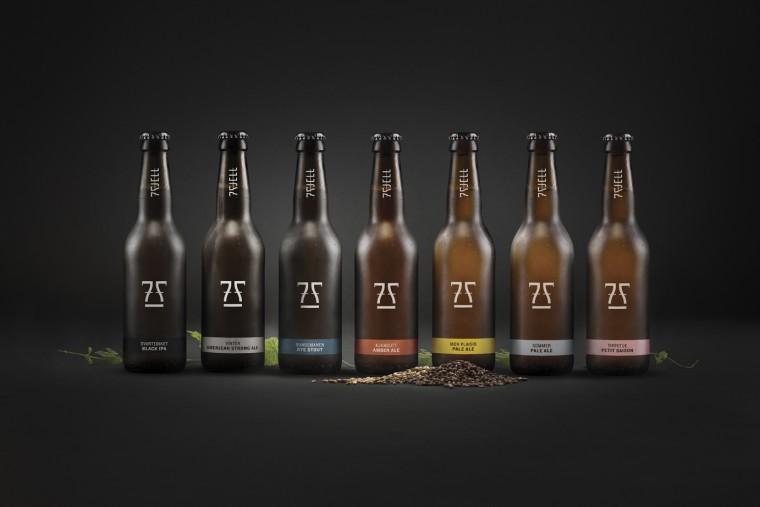 Ølene til 7 Fjell. Foto-montasje