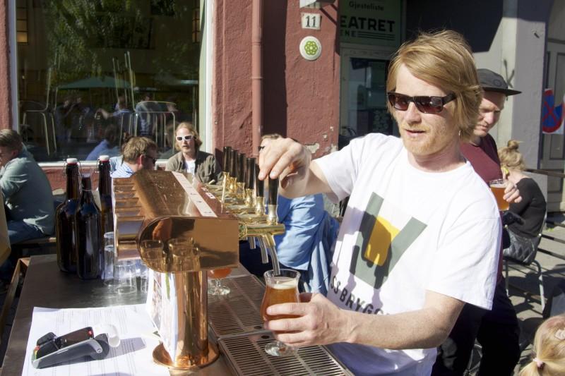 Dag Jørgensen i Voss bryggeri
