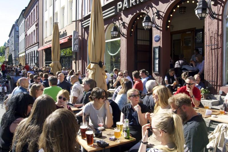 Voss bryggeri på Parkteateret