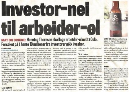 Sagene Investornei