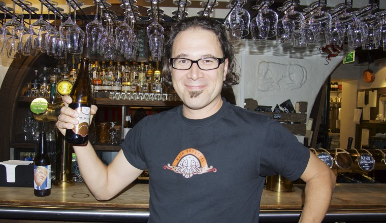 Ægir viste muskler i Bryggeribråk