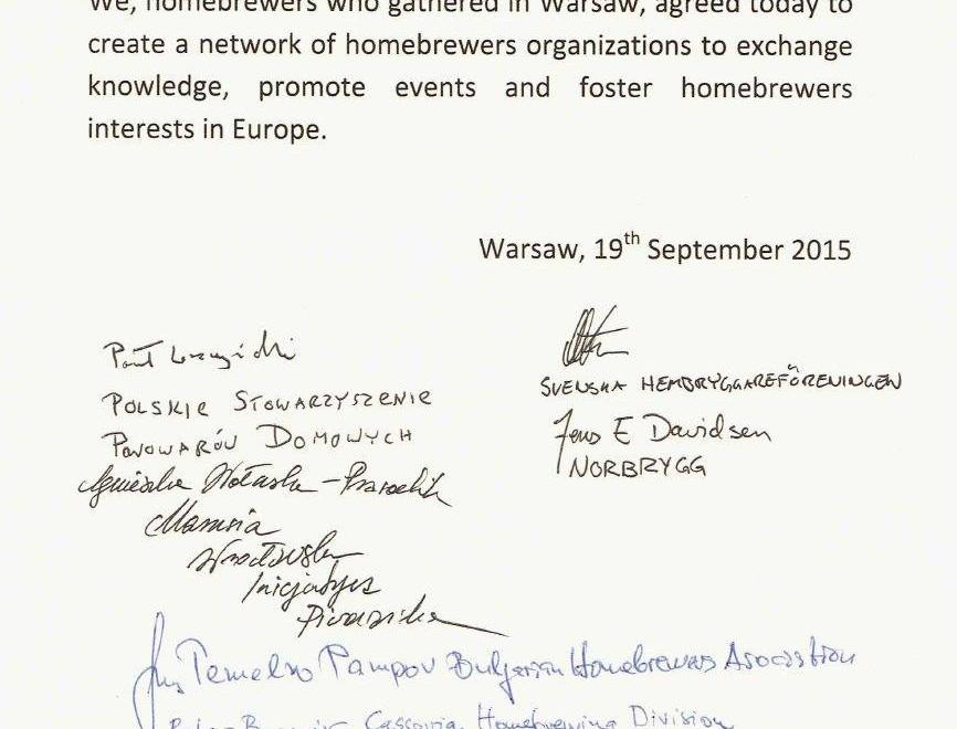 Hjemmebryggerne i Europa organiserer seg