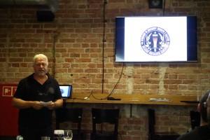 Temelko Pampov forteller om situasjonen i Bulgaria