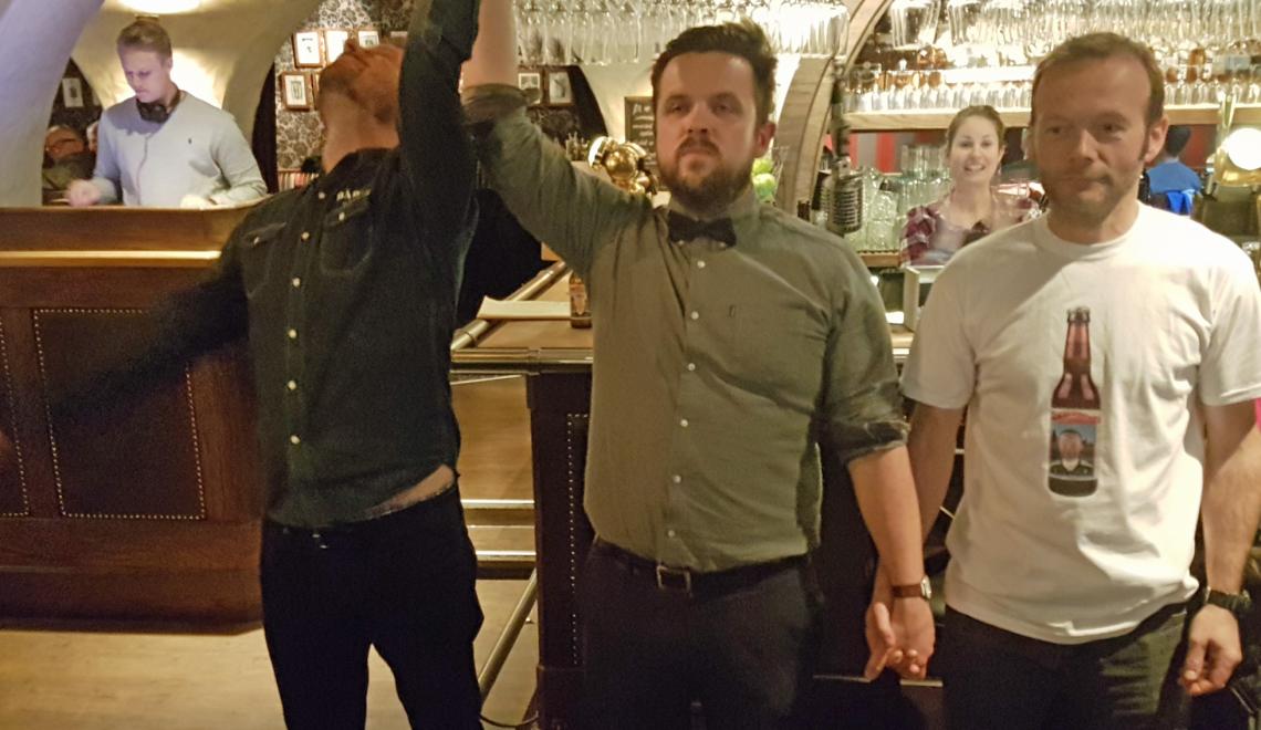 Bådin til finalen i bryggeribråk