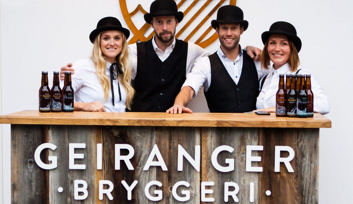 Bryggeripresentasjon : Geiranger Bryggeri
