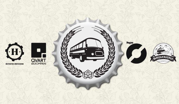 Buss fra bryggeri til bryggeri