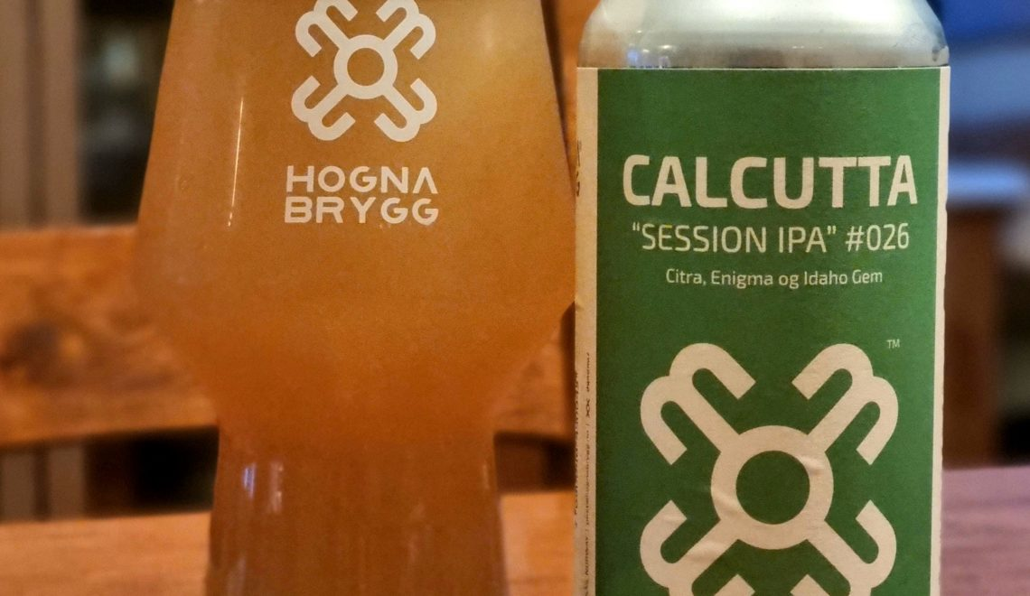 Dagens ølanbefaling: Hogna Brygg Calcutta